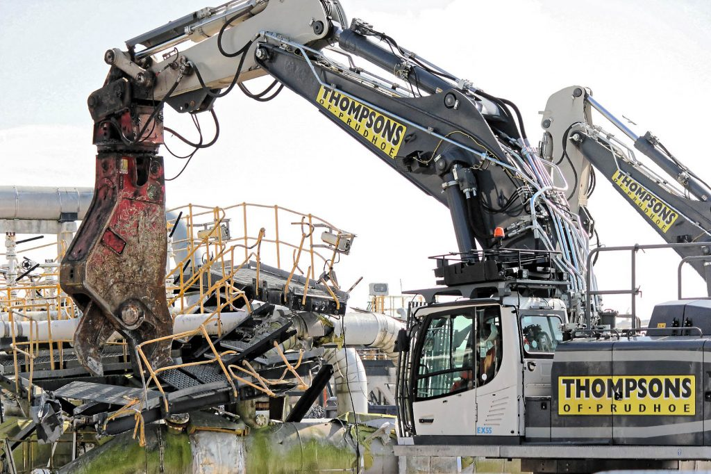 Thompsons of Prudhoe - Methods of Demolition
