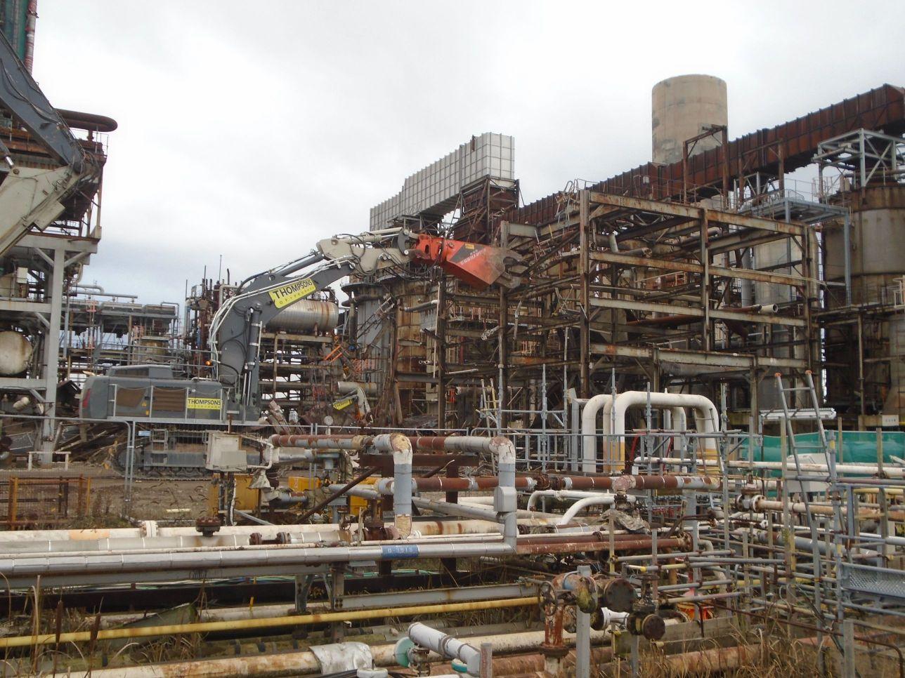 Industrial Factory Dismantling