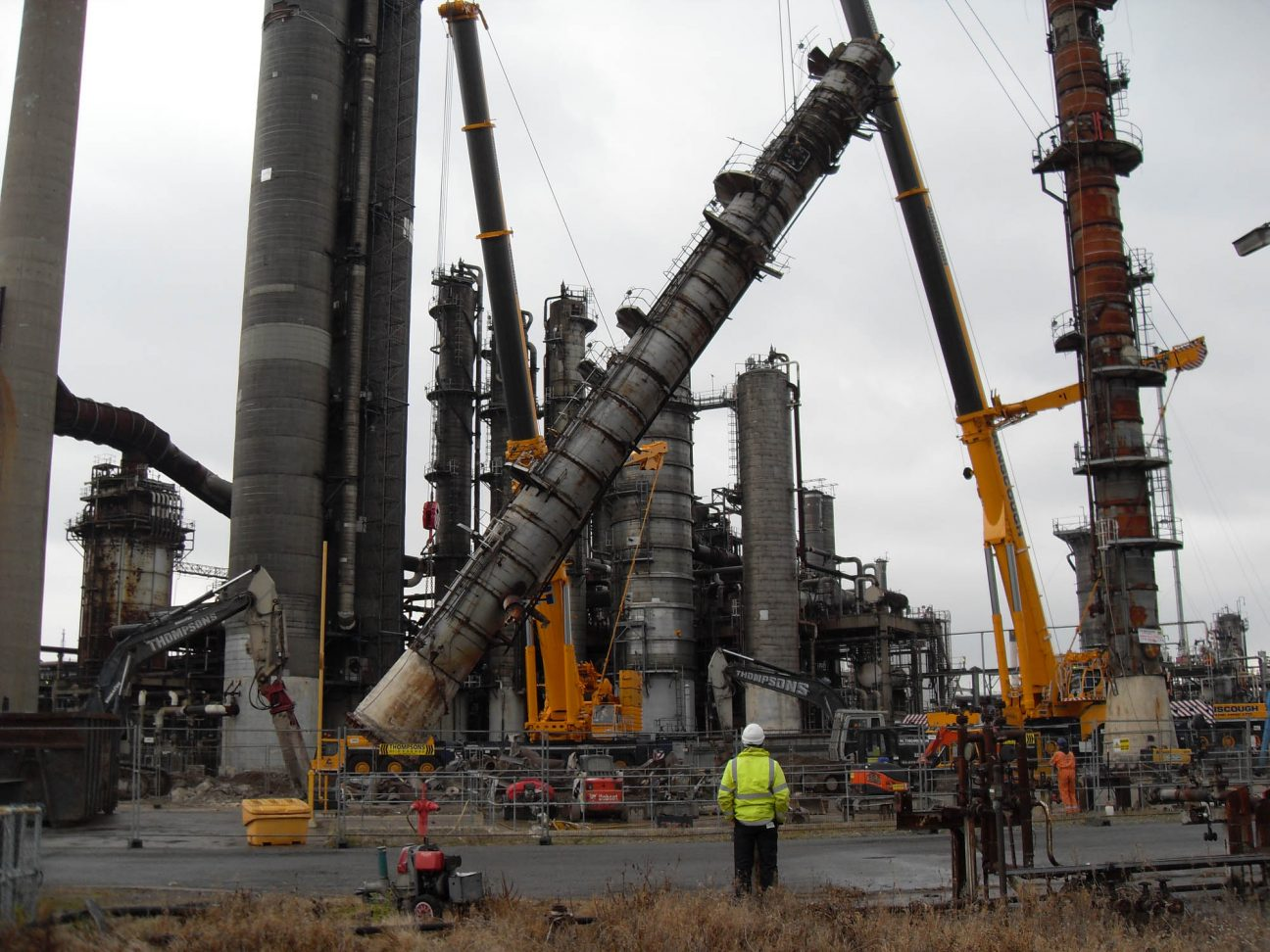 Plant Dismantling and Decommissioning